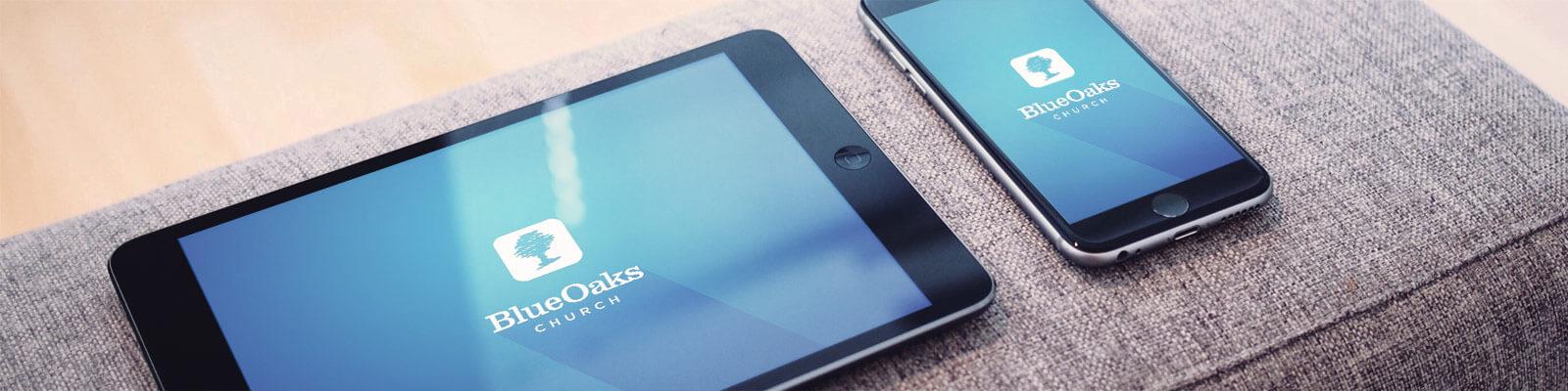 blue oaks mobile app