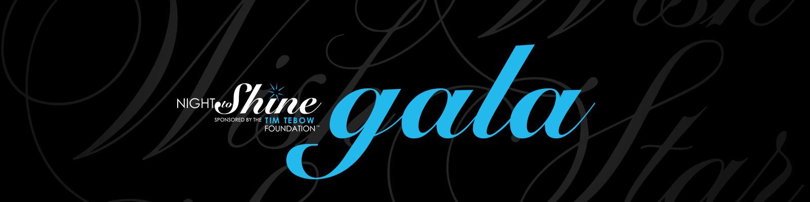 Night to Shine Gala logo